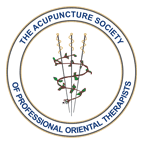 the logo of the acupuncture society